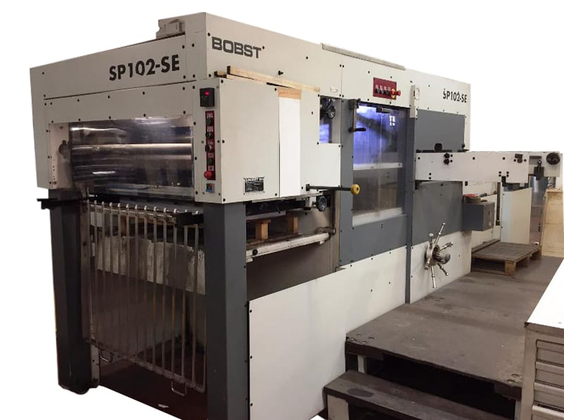 Bobst Die Cutter Automatic 102SE